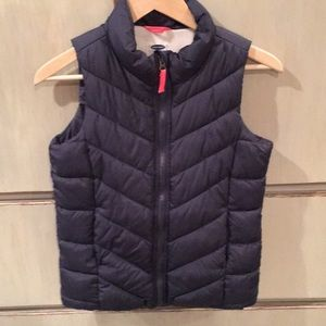 Girls puffer vest from Old Navy